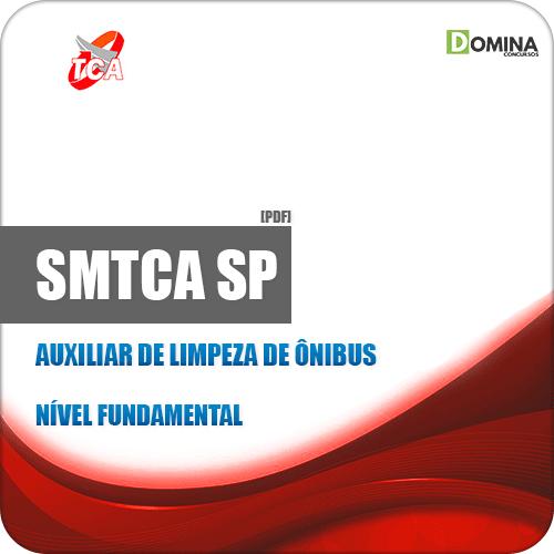 Apostila Concurso SMTCA SP 2019 Auxiliar de Limpeza de Ônibus