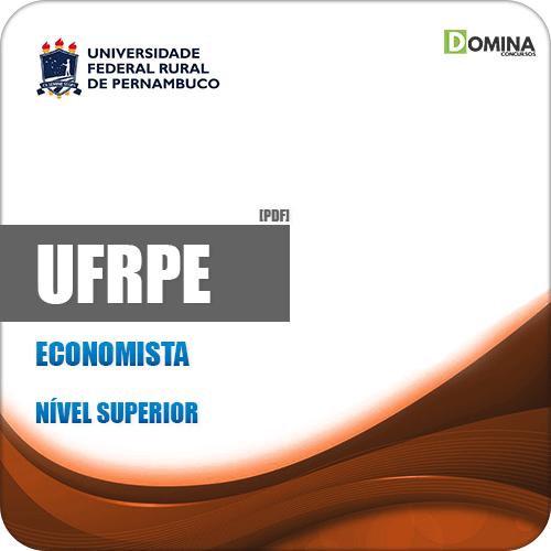 Apostila Concurso Público UFRPE 2019 Economista