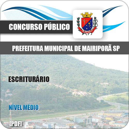 Apostila Concurso Pref Mairiporã SP 2019 Escriturário