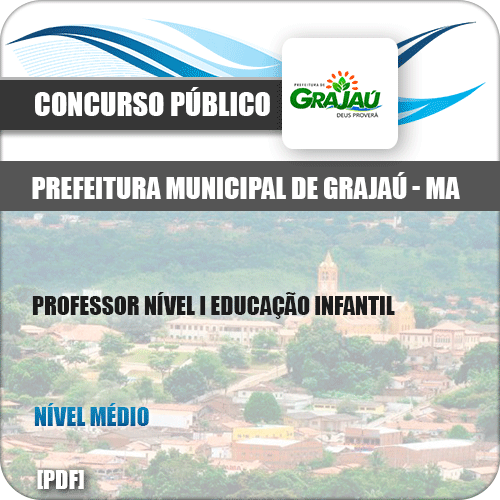 Apostila Pref Grajaú MA 2019 Prof Nível I Edu Infantil