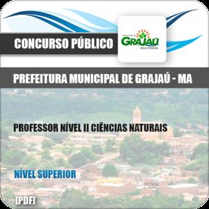 Apostila Pref Grajaú MA 2019 Prof Nível II Ciências Naturais