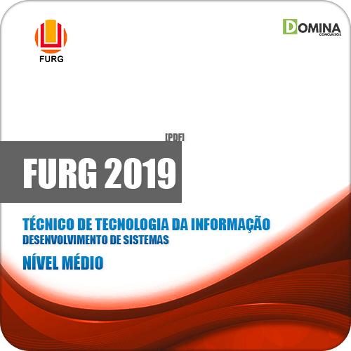 Apostila FURG RS 2019 Técnico Desenvolvimento de Sistemas