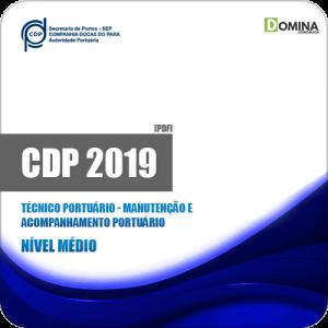 Apostila CDP do Pará 2019 Tec Acompanhamento Portuário