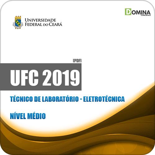 Apostila Concurso UFC 2019 Técnico de Laboratório Eletrotécnica
