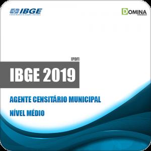 Apostila IBGE 2019 Agente Censitário Municipal Experimental