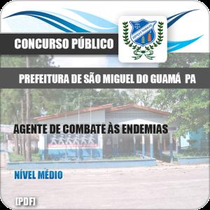 Apostila Pref São Miguel Guamá PA 2019 Agt Combate Endemias