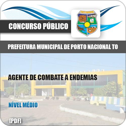 Apostila Pref Porto Nacional TO 2019 Agt Combate a Endemias