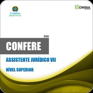 Apostila CONFERE RJ 2019 Assistente Jurídico VII