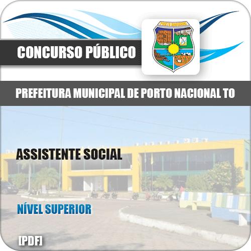Apostila Pref Porto Nacional TO 2019 Assistente Social