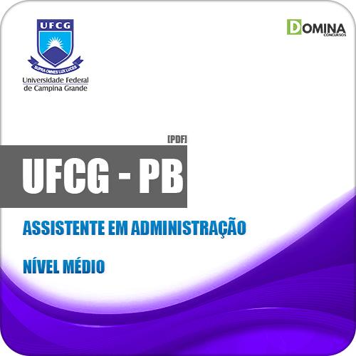 Apostila Concurso UFCG PB 2019 Assistente em Administração