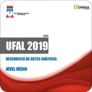 Apostila Concurso UFAL 2019 Desenhista de Artes Gráficas