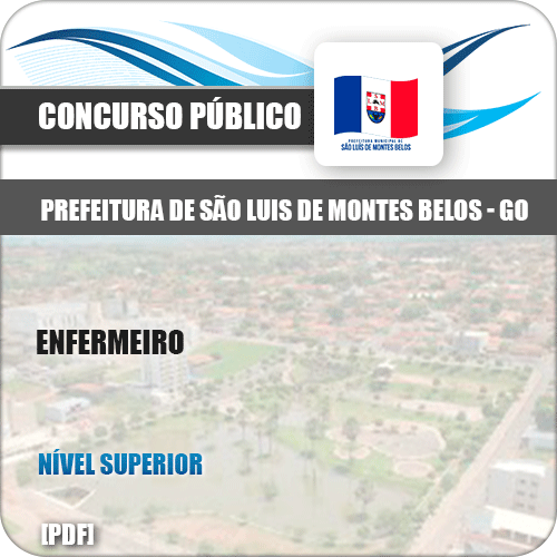 Apostila São Luis Montes Belos GO 2019 Enfermeiro