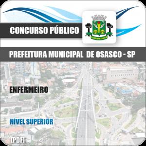 Apostila Concurso Pref Osasco SP 2019 Enfermeiro
