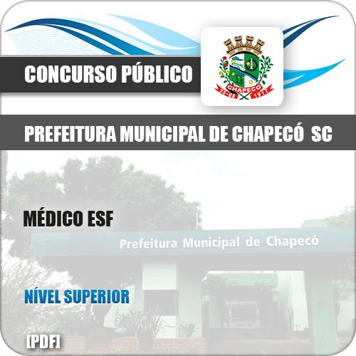 Apostila Concurso Pref Chapecó SC 2019 Médico ESF