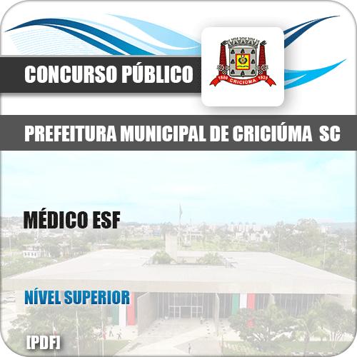 Apostila Concurso Pref Criciúma SC 2019 Médico ESF