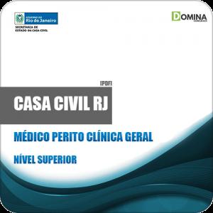 Apostila Casa Civil RJ 2019 Médico Perito Clínica Geral