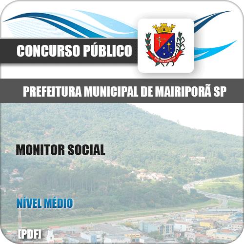 Apostila Concurso Pref Mairiporã SP 2019 Monitor Social
