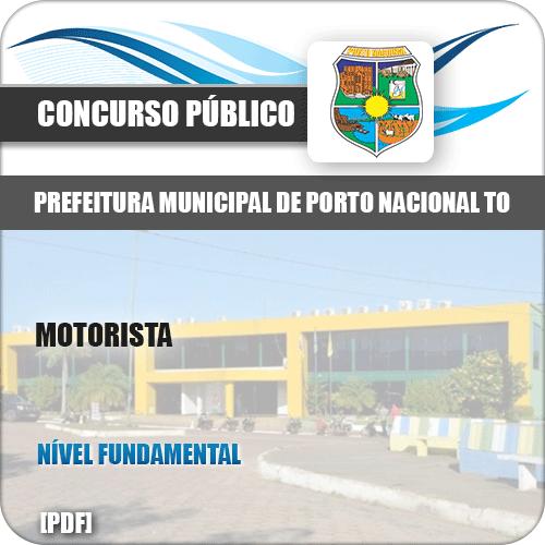 Apostila Concurso Pref Porto Nacional TO 2019 Motorista