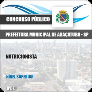 Apostila Concurso Pref Araçatuba SP 2019 Nutricionista