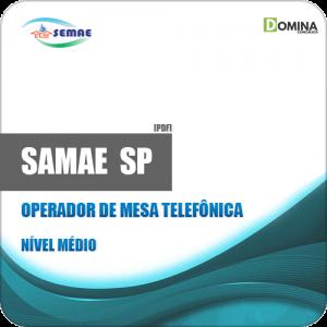 Apostila SEMAE Piracicaba SP 2019 Operador de Mesa Telefônica