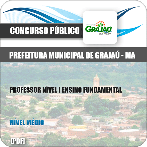 Apostila Pref Grajaú MA 2019 Prof Nível I Ensino Fund