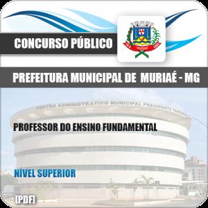 Apostila Pref Muriaé MG 2019 Professor Ensino Fundamental