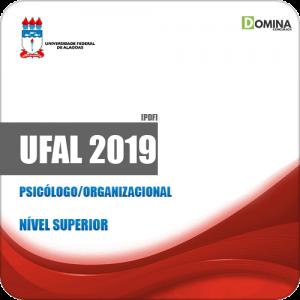 Apostila Concurso Público UFAL 2019 Psicólogo Organizacional