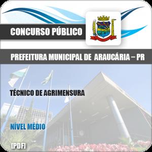 Apostila Pref de Araucária PR 2019 Técnico Agrimensura