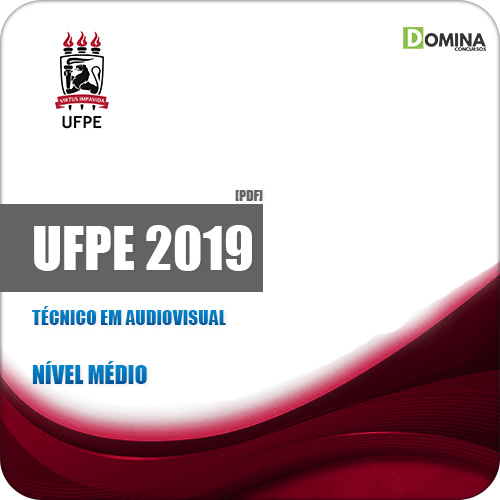 Apostila Concurso UFPE 2019 Técnico em Audiovisual