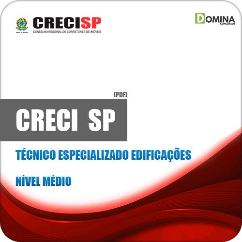 Apostila Concurso CRECI SP 2019 Técnico Edificações
