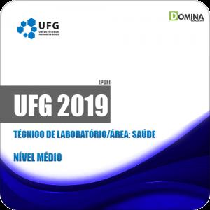 Apostila Concurso UFG 2019 Técnico de Laboratório Área Saúde