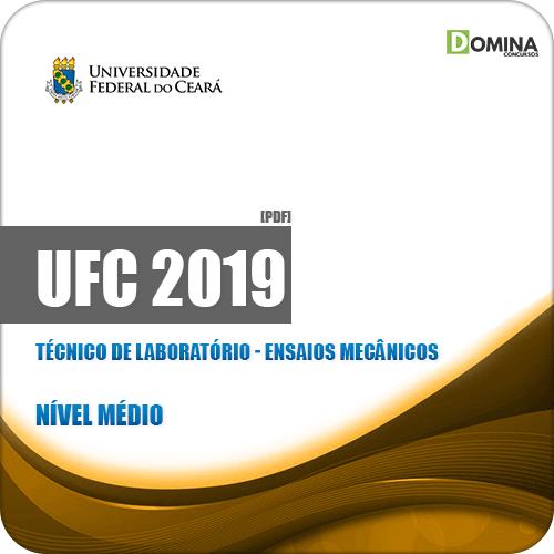 Apostila UFC 2019 Técnico de Laboratório Ensaios Mecânicos