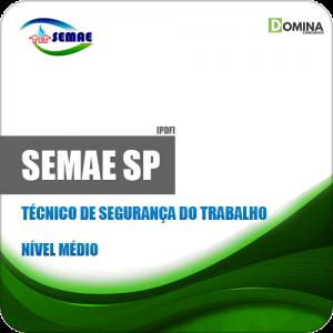 Apostila SEMAE de Piracicaba SP 2019 Tec Segurança Trabalho