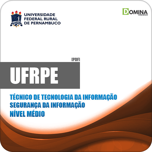 Apostila UFRPE 2019 Técnico de TI Segurança da Informação