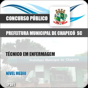 Apostila Pref Chapecó SC 2019 Técnico em Enfermagem