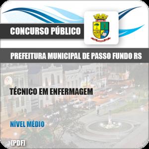 Apostila Pref Passo Fundo RS 2019 Técnico em Enfermagem