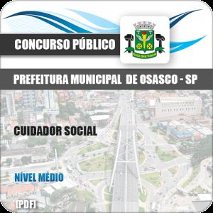 Apostila Concurso Pref Osasco SP 2019 Cuidador Social