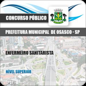Apostila Concurso Pref Osasco SP 2019 Enfermeiro Sanitarista