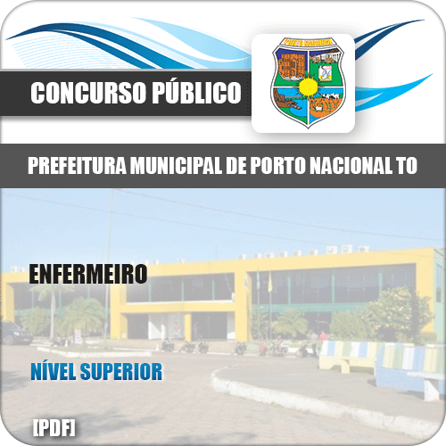 Apostila Concurso Pref Porto Nacional TO 2019 Enfermeiro