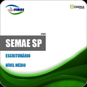 Apostila SEMAE de Piracicaba SP 2019 Escriturário