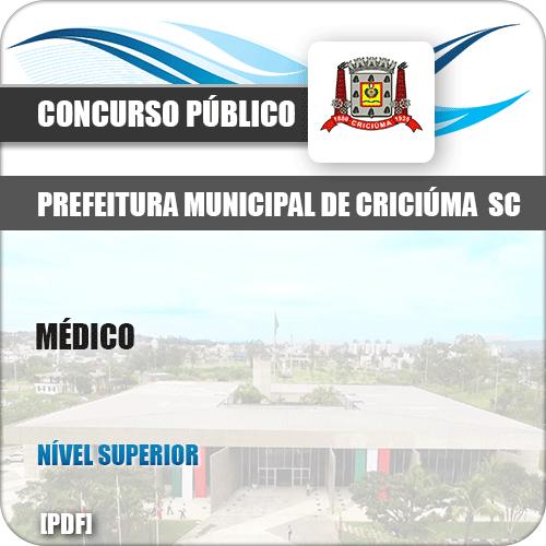 Apostila Concurso Pref Criciúma SC 2019 Médico