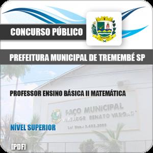 Apostila Pref Tremembé SP 2019 Professor Básica II Matemática