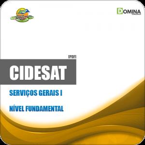 Apostila Processo Seletivo CIDESAT MT 2019 Serviços Gerais I