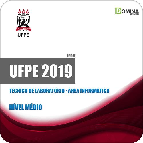 Apostila UFPE 2019 Técnico de Laboratório Informática