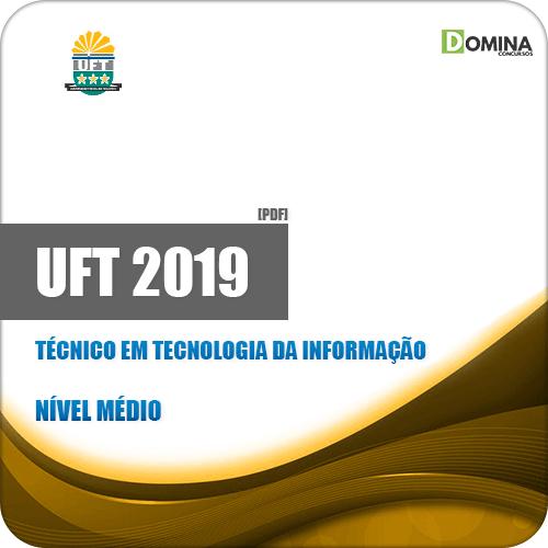 Apostila UFT 2019 Técnico em Tecnologia da Informação