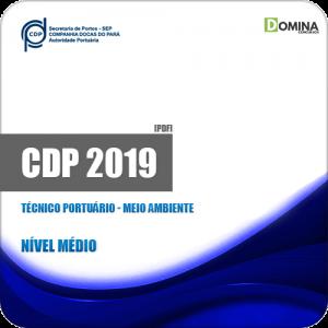 Apostila CDP do Pará 2019 Técnico Portuário Meio Ambiente