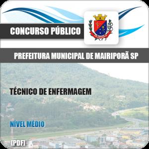 Apostila Pref Mairiporã SP 2019 Técnico de Enfermagem