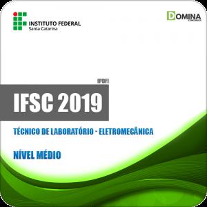Apostila Concurso IFSC 2019 Técnico de Laboratório Eletromecânica