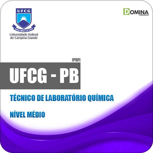 Apostila Concurso UFCG PB 2019 Técnico de Laboratório Química
