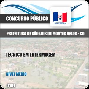 Apostila São Luis Montes Belos GO 2019 Técnico Enfermagem
